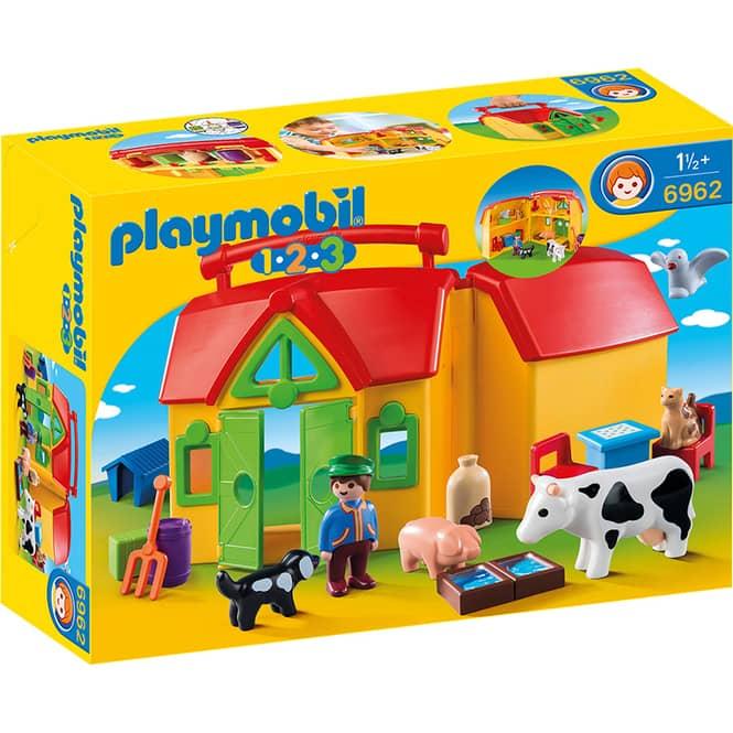 PLAYMOBIL® 6962 - Mein Mitnehm-Bauernhof - Playmobil 1-2-3