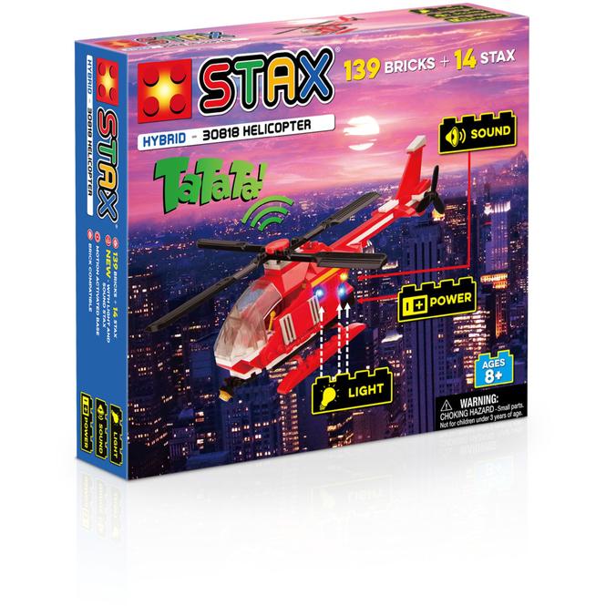 Bausteinset mit Licht und Sound - Helikopter