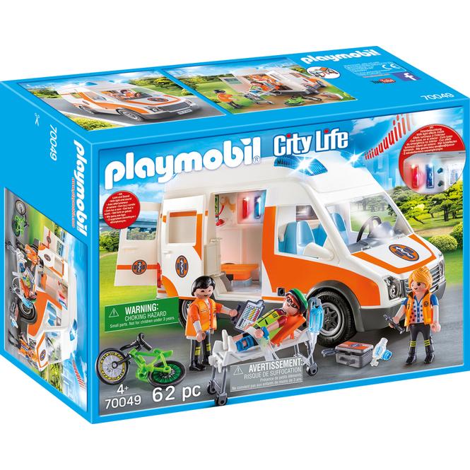 Playmobil® 70049 - Rettungswagen mit Licht und Sound - Playmobil City Life