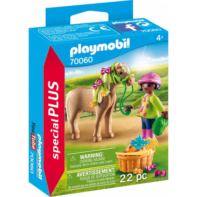 PLAYMOBIL® 70060 - Mädchen mit Pony - Playmobil Special Plus