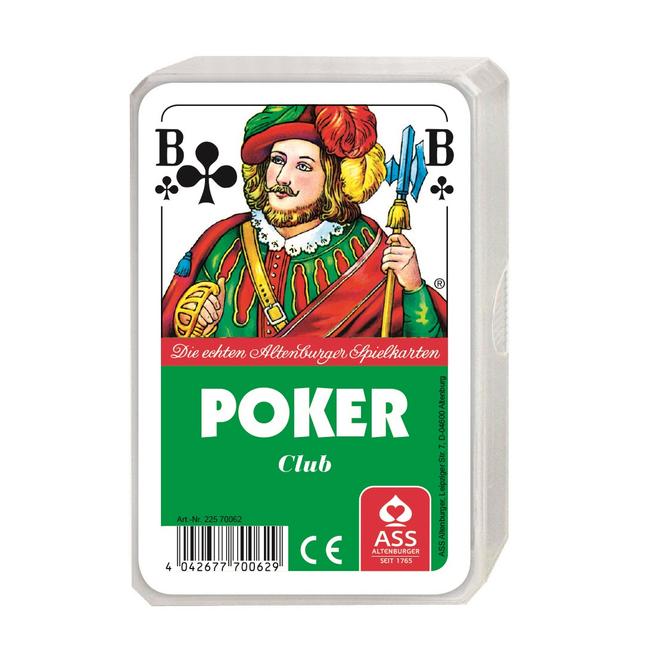 ASS Altenburger - Poker - Kartenspiel (franz.  Bild)