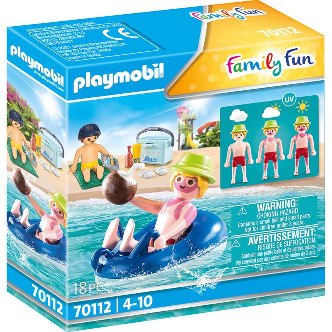 Playmobil® 70112 - Badegast mit Schwimmreifen - Playmobil® Family Fun