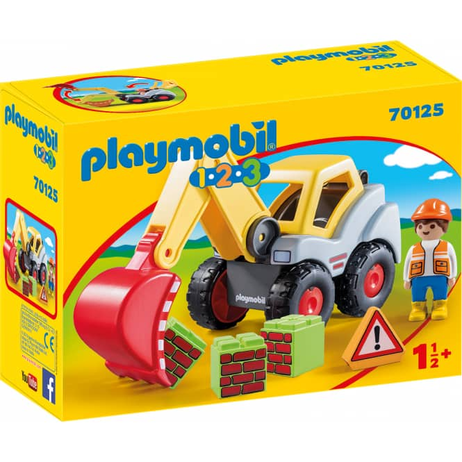 PLAYMOBIL® 1,2,3 70125 - Schaufelbagger