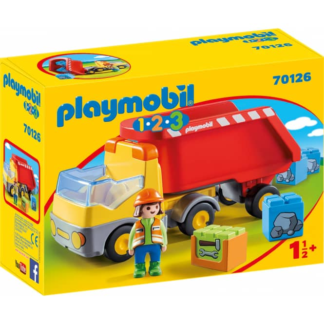 PLAYMOBIL® 1,2,3 70126 - Kipplaster