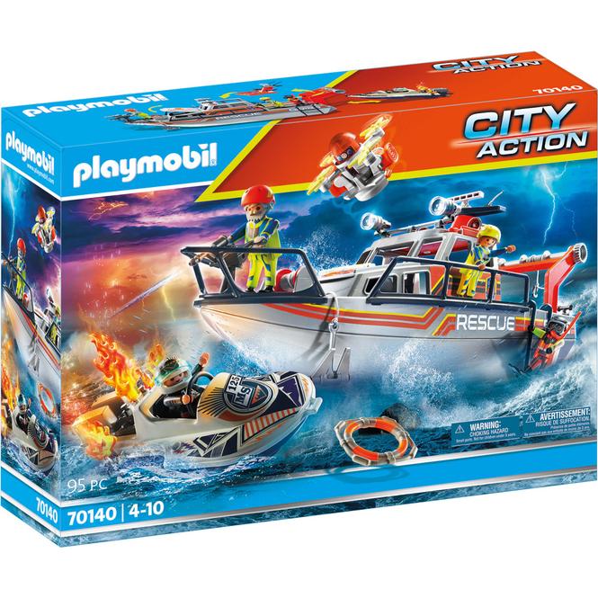 Playmobil® 70140 - Seenot: Löscheinsatz mit Rettungskreuzer - Playmobil® City Action