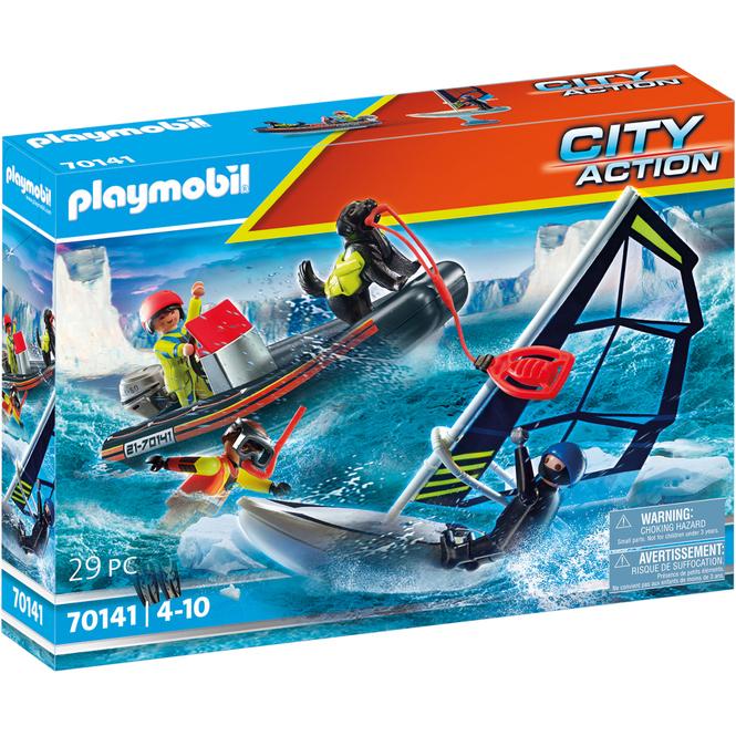 Playmobil® 70141 - Seenot: Polarsegler-Rettung mit Schlauchboot - Playmobil® City Action