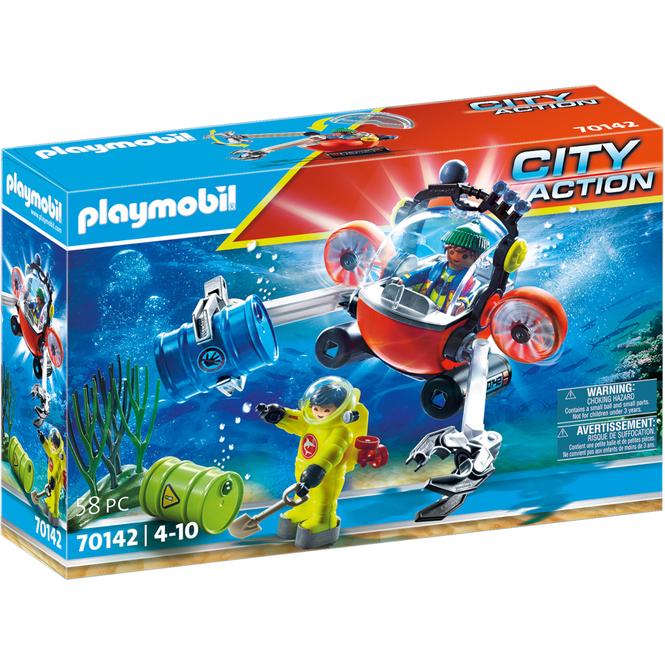 Playmobil® 70142 - Seenot: Umwelteinsatz mit Tauchboot - Playmobil® City Action