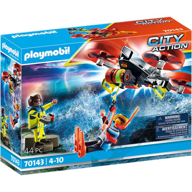 Playmobil® 70143 - Seenot: Taucher-Bergung mit Rettungsdrohne - Playmobil® City Action