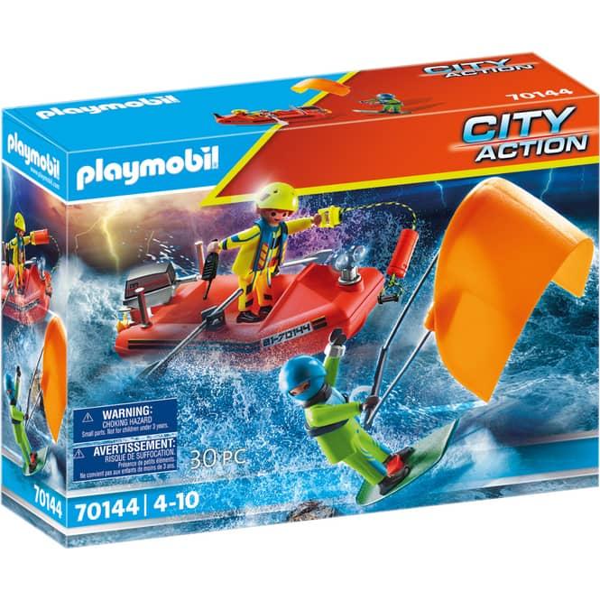Playmobil® 70144 - Seenot: Kitesurfer-Rettung mit Boot - Playmobil® City Action