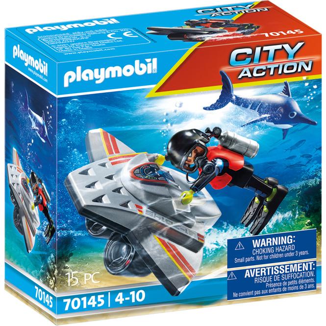 Playmobil® 70145 - Seenot: Tauchscooter im Rettungseinsatz - Playmobil® City Action