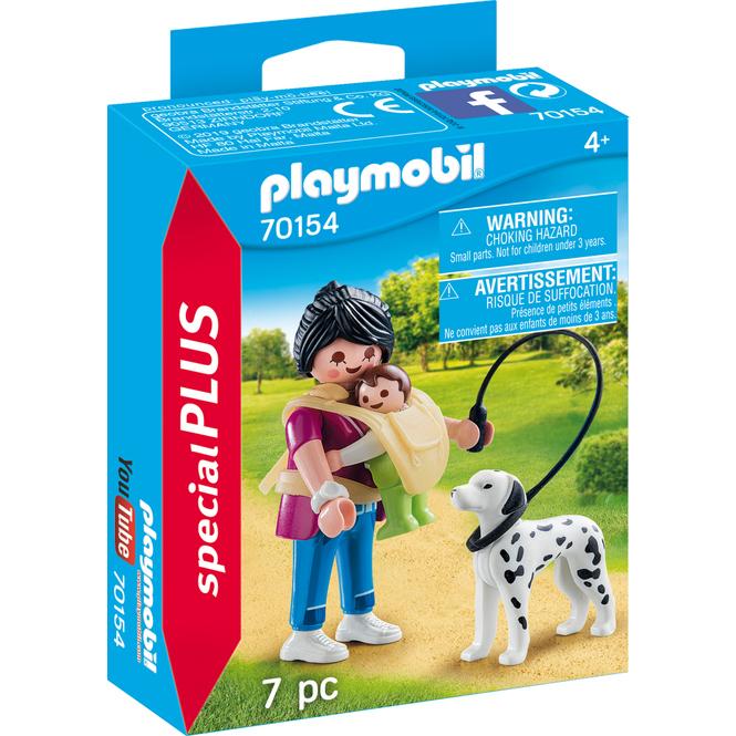 PLAYMOBIL® Special Plus 70154 - Mama mit Baby und Hund