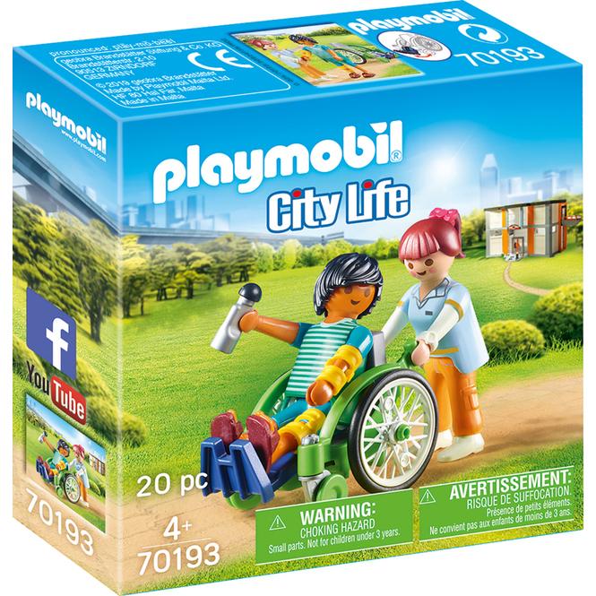 Playmobil® 70193 - Patient im Rollstuhl