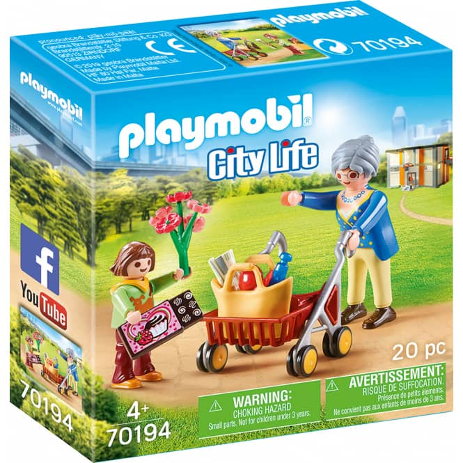 Playmobil® 70194 - Oma mit Rollator