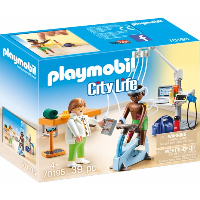 Playmobil® 70195 - Beim Facharzt: Physiotherapeut