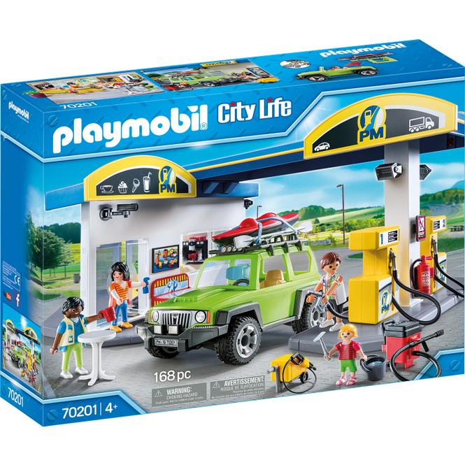 PLAYMOBIL® City Life 70201 - Große Tankstelle