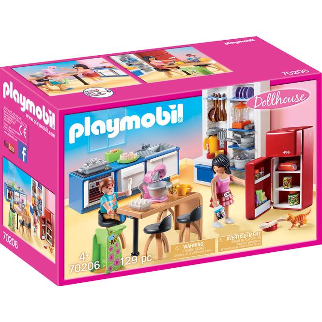 PLAYMOBIL® Dollhouse 70206 - Familienküche
