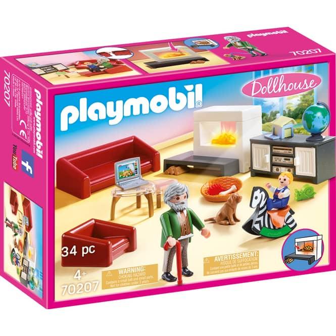 PLAYMOBIL® Dollhouse 70207 - Gemütliches Wohnzimmer