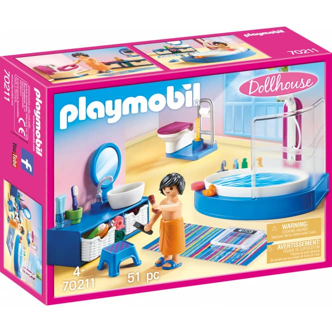 PLAYMOBIL® Dollhouse 70211 - Badezimmer