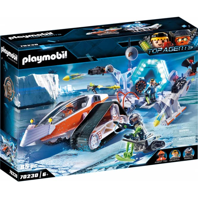 PLAYMOBIL® 70230 - Spy Team Kommandoschlitten - PLAYMOBIL® Top Agents