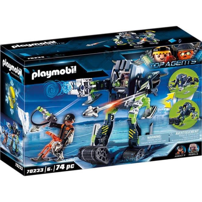 PLAYMOBIL® 70233 - Arctic Rebels Eisroboter - PLAYMOBIL® Top Agents