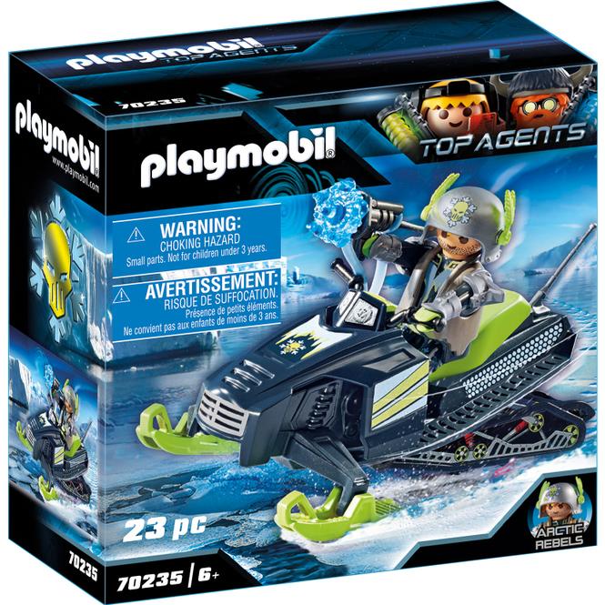 PLAYMOBIL® 70235 - Arctic Rebels Eisscooter - PLAYMOBIL® Top Agents