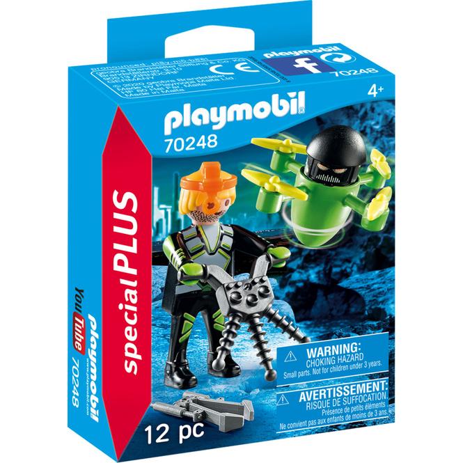 PLAYMOBIL® 70248 - Agent mit Drohne - PLAYMOBIL® Special Plus