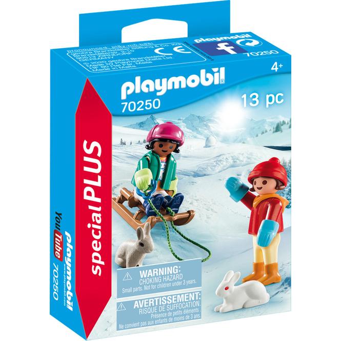 PLAYMOBIL® 70250 - Kinder mit Schlitten - PLAYMOBIL® Special Plus