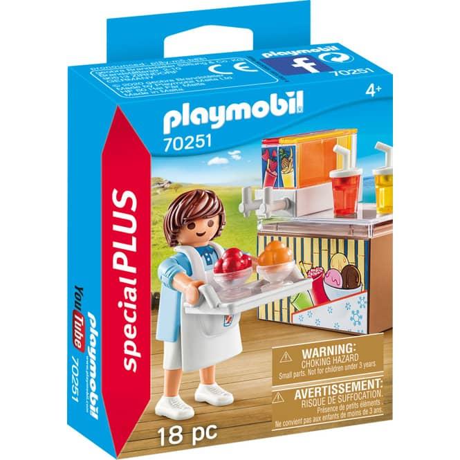 PLAYMOBIL® 70251 - Slush Ice Verkäufer - PLAYMOBIL® Special Plus