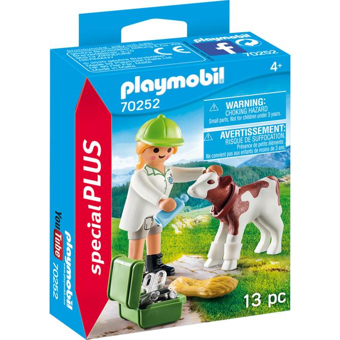 PLAYMOBIL® 70252 - Tierärztin mit Kälbchen - PLAYMOBIL® Special Plus