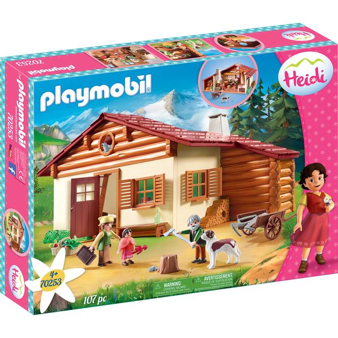 PLAYMOBIL®70253 - Heidi und Großvater auf der Almhütte - PLAYMOBIL® Heidi