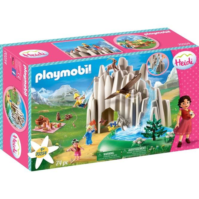 PLAYMOBIL®70254 - Am Kristallsee mit Heidi, Peter und Clara - PLAYMOBIL® Heidi
