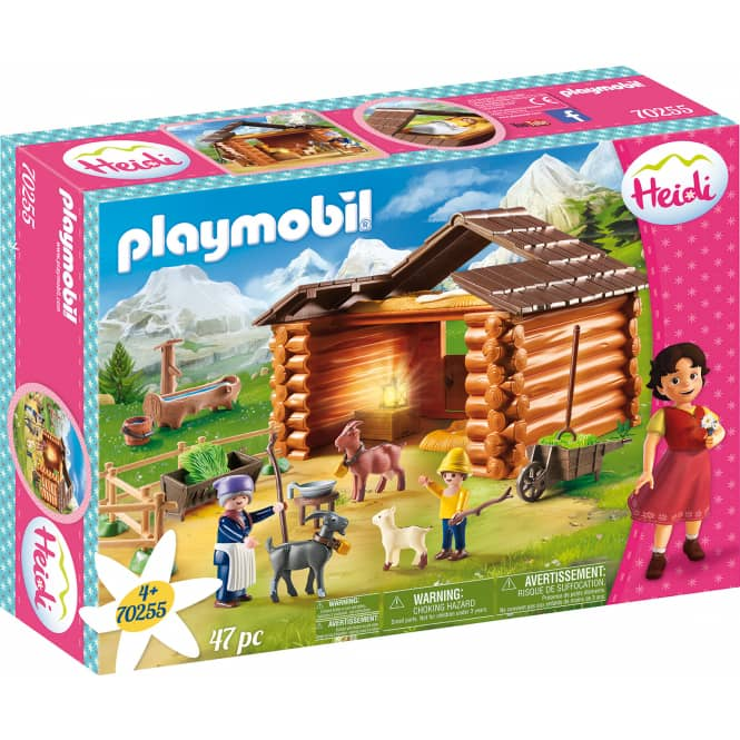 PLAYMOBIL®70255 - Peters Ziegenstall - PLAYMOBIL® Heidi