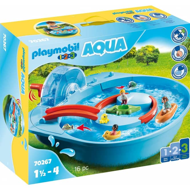Playmobil® 70267 - Fröhliche Wasserbahn - Playmobil® 1.2.3 / Aqua