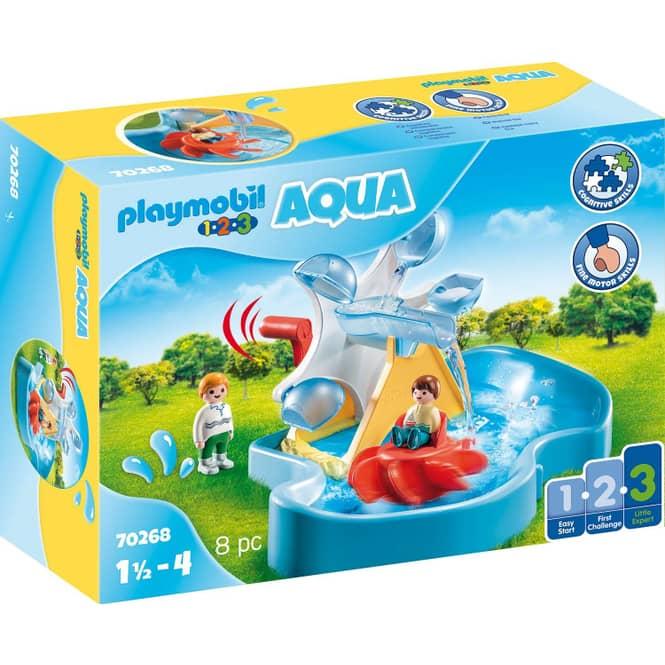 PLAYMOBIL® 70268 - Wasserrad mit Karussell - PLAYMOBIL® 1.2.3 / Aqua