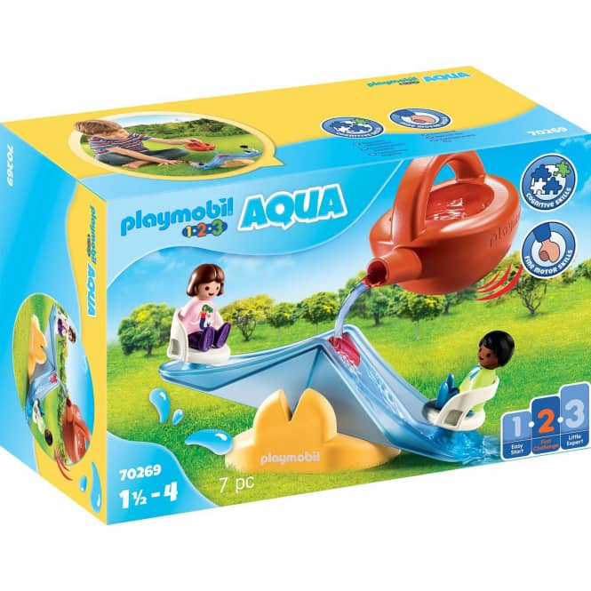 PLAYMOBIL® 70269 - Wasserwippe mit Gießkanne - PLAYMOBIL® 1.2.3 / Aqua