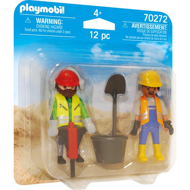 Playmobil® Duo Pack 70272 - Zwei Bauarbeiter