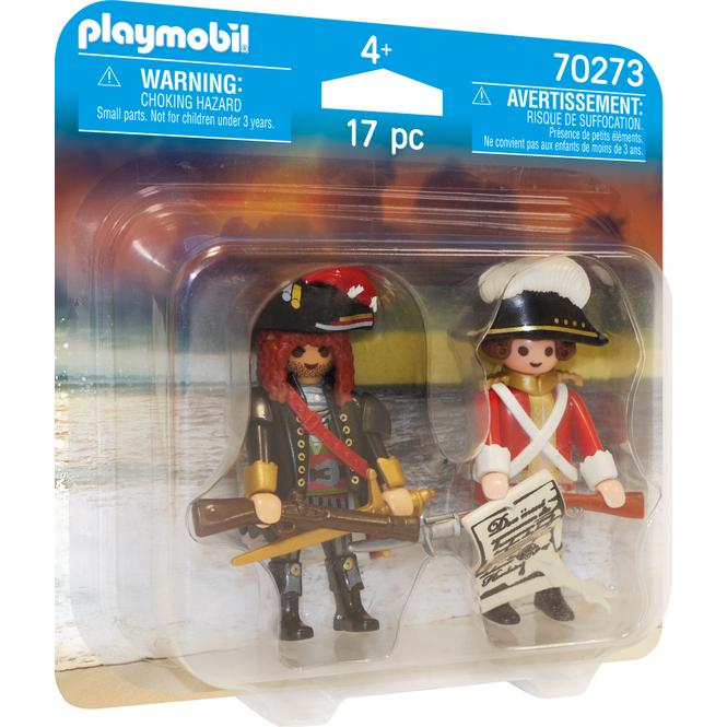 Playmobil® Duo Pack 70273 - Piratenkapitän und Rotrock