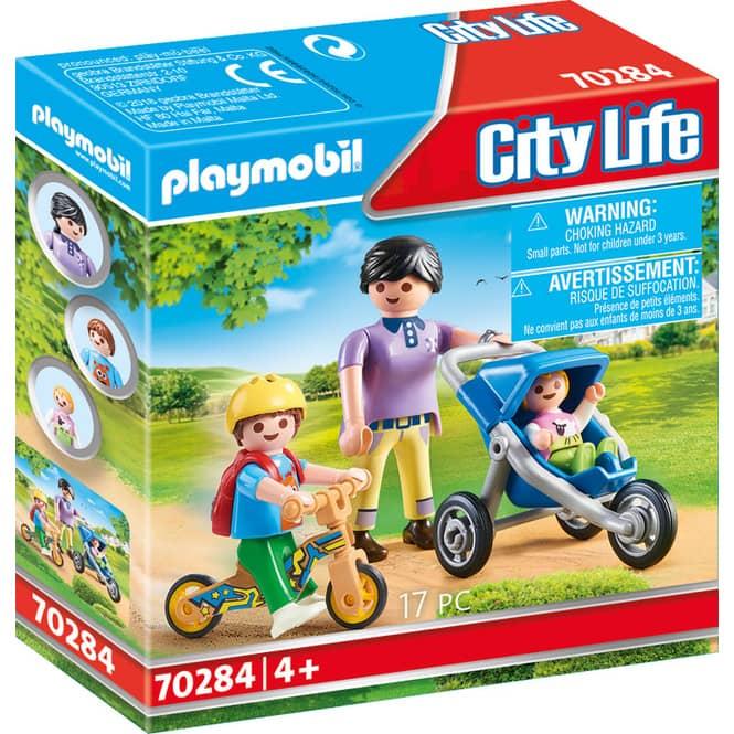 PLAYMOBIL® 70284 - Mama mit Kindern - PLAYMOBIL® City Life