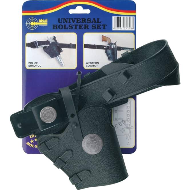 Universalholster Set für Spielzeugpistolen - 78cm - schwarz