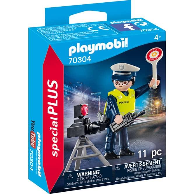 Playmobil® 70304 - Polizist mit Radarfalle - Playmobil®Special Plus