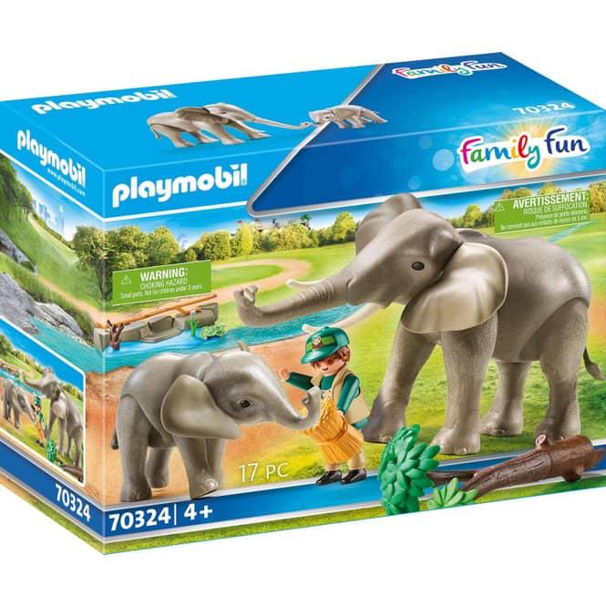 Playmobil® 70324 - Elefanten im Freigehege - Playmobil® Family Fun