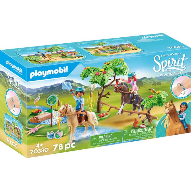Playmobil® Spirit 70330 - Herausforderung am Fluss
