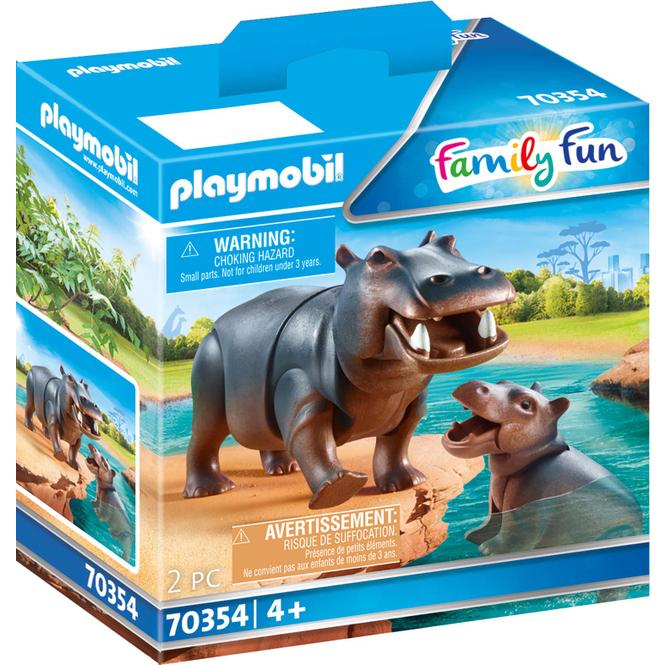 Playmobil® 70354 - Flußpferd mit Baby - Playmobil® Family Fun