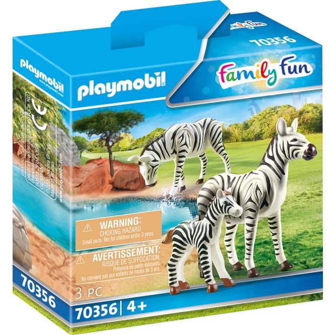 Playmobil® Erlebnis Zoo 70356 - 2 Zebras mit Baby