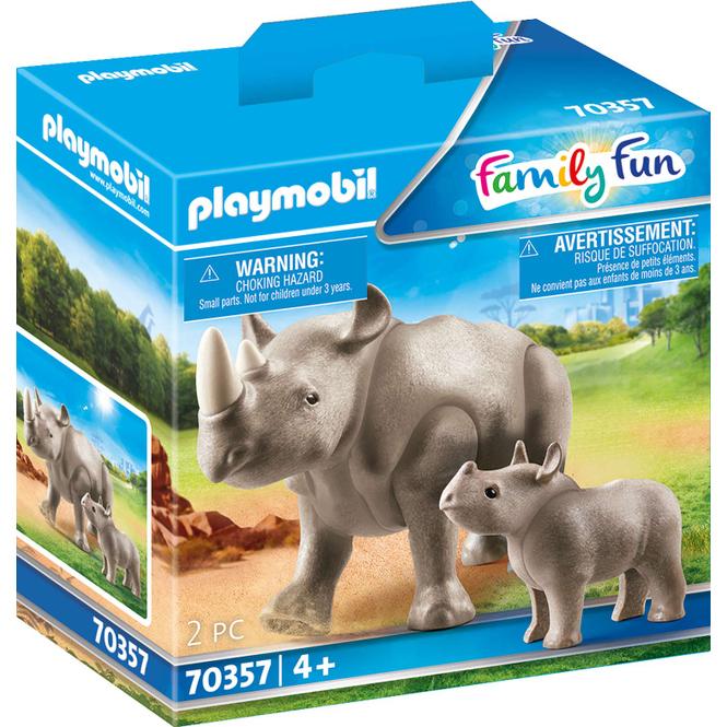 Playmobil® 70357 - Nashorn mit Baby - Playmobil® Family Fun