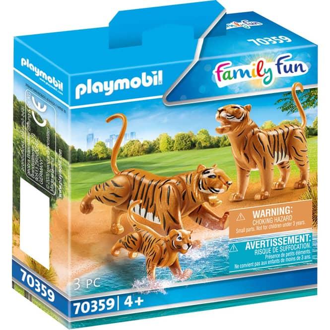 Playmobil® 70359 - 2 Tiger mit Baby - Playmobil® Family Fun