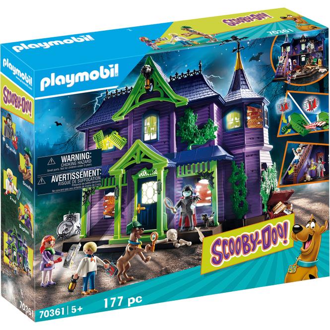 Playmobil® 70361 - SCOOBY-DOO! Abenteuer im Geisterhaus
