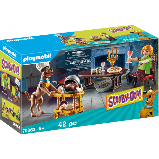 Playmobil® 70363 - SCOOBY-DOO! Abendessen mit Shaggy