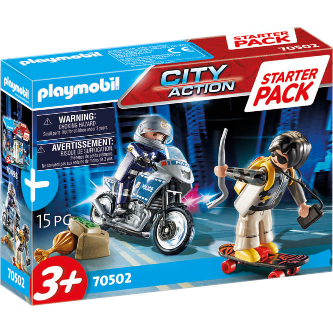 Playmobil® 70502 - Starter Pack Polizei Ergänzungsset - Playmobil® City Action
