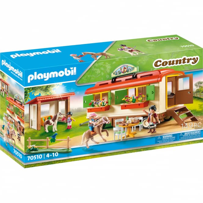 Playmobil® 70510 - Ponycamp-Übernachtungswagen - Playmobil® Country